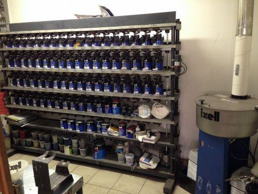 Cabine de peinture retouche peinture auto toutes marques for Garage toute marque